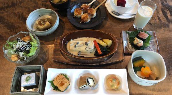 Sabo Mameya Obuse Nagano Vegetarian Dining