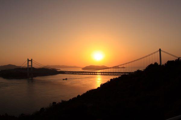 Seto Ohashi Sunset Viewing