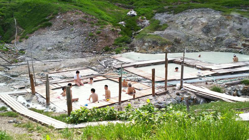 Toshichi Hot Springs Saiunso Iwate Japan