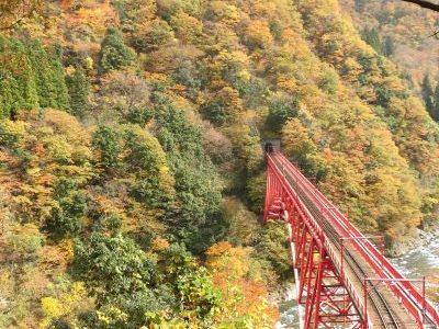 Kurobe-Gorge-Unazuki-Station-Yamabiko-Lookout
