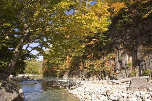 Matsukawa Gorge Iwate Japan