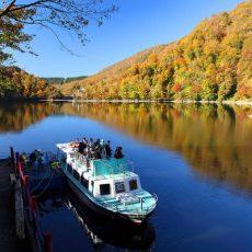 Taihei-Lake-Pleasure-Boat-Akita-Japan