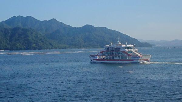 Ferry to Miyajima Japan