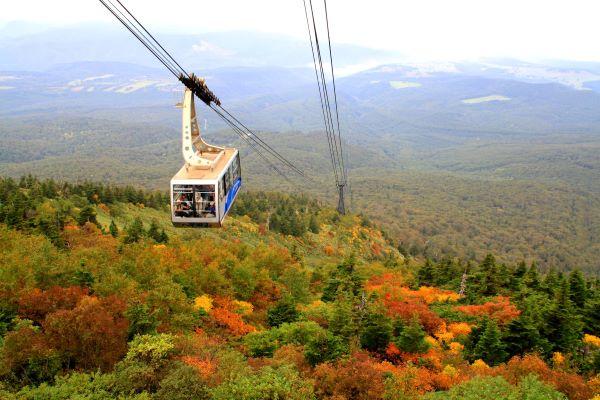 Hakkoda Ropeway Aomori Japan Autumn