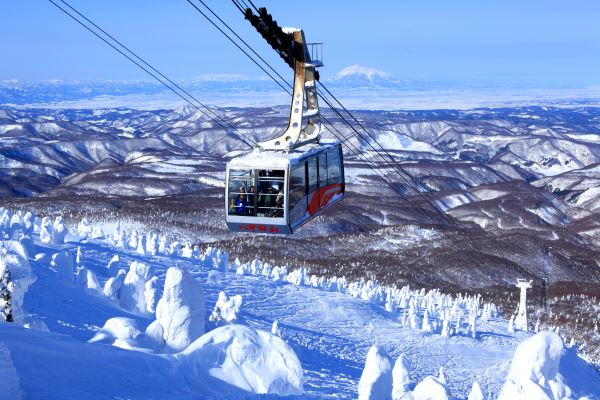 Hakkoda Ropeway Aomori Japan Winter With Snow Monsters