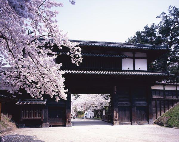 Hirosaki Castle Sannomaru Ōtemon Gate Aomori Japan