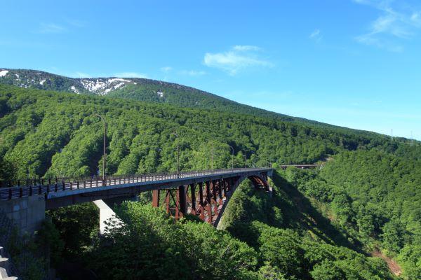 Jogakura Bridge Aomori Japan