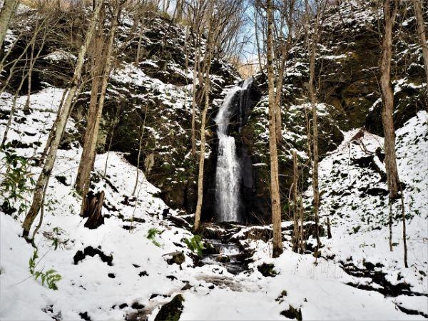 Kumoi Falls Oirase Gorge Aomori Japan
