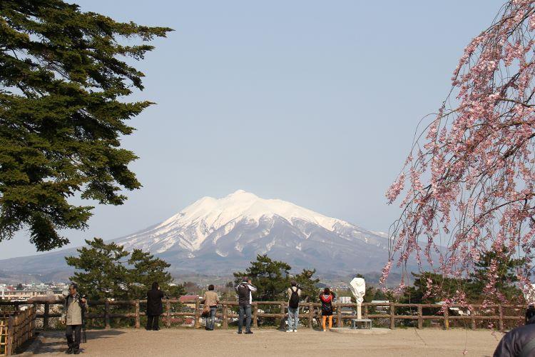 Mt. Iwaki Hirosaki Aomori Japan