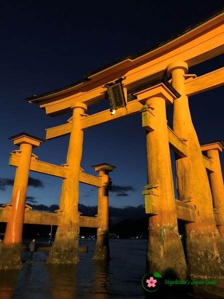 Great Torii Gate Itsukushima Shrine Miyajima Japan