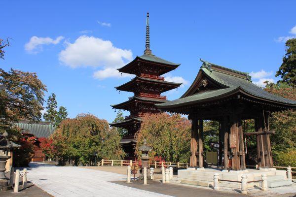 Saishoin-Temple-Hirosaki-Aomori-Japan