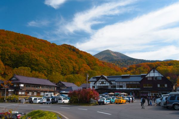 Sukayu Onsen Aomori Japan Autumn