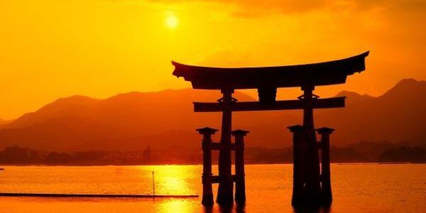 Sunset-At-Miyajima-Japan