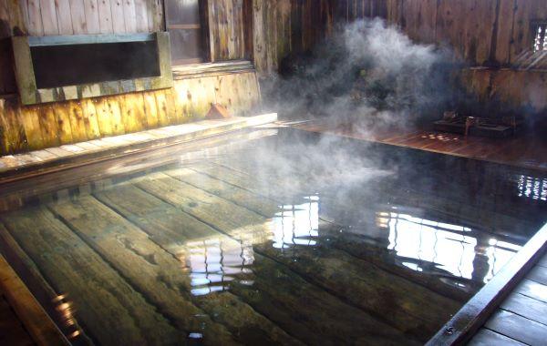Tsuta Onsen Ryokan Onsen Pool