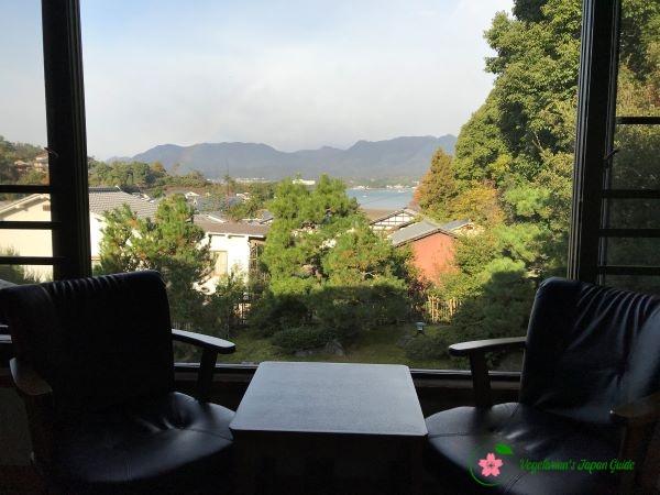 View From Mikuniya Guestroom Miyajima Japan