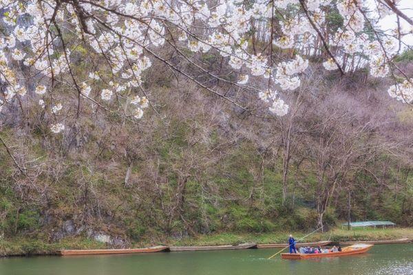 Geibikei-Gorge-Spring-Iwate-Japan