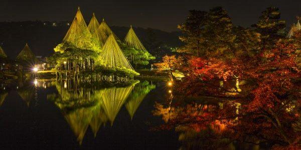 Kenrokuen-Garden-Light-up-Kanazawa-Ishikawa-Japan