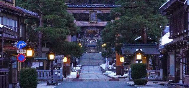 Sakurayama-Hachimangu-Shrine-Nighttime-Takayama-Gifu-Japan
