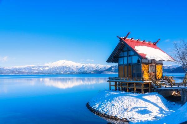 Ukiki-Shrine-Lake-Tazawa-Akita-Japan