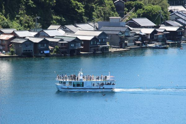 Ine-Bay-Sightseeing-Ferry-Kyoto-Japan